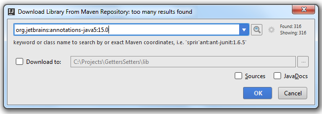 annotations download from maven repository