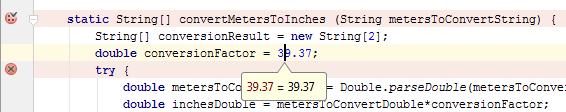 ij quick evaluate expression