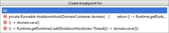 lambda breakpoints