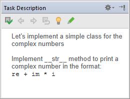 pe task description tool window