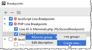 ps move breakpoint to group