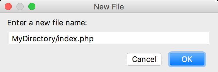 ps new empty file