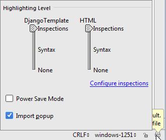 py configureInspections