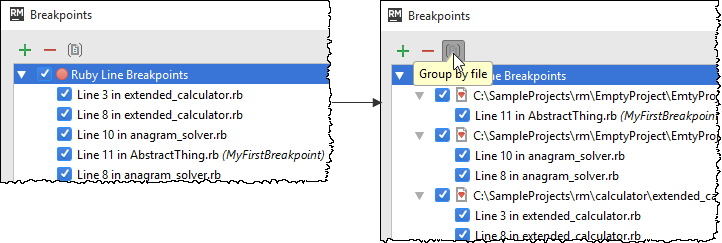 rm breakpoint group by file