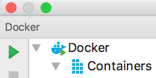 rm docker tool window connected