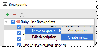rm move breakpoint to group