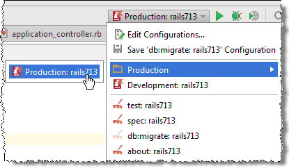 rm run config folder