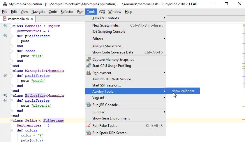 rm ssh tools menu