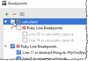 rm toggle group of breakpoints