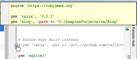 rm view invisible code