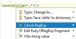 ruby check regexp