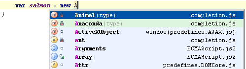 web ide completion settings none