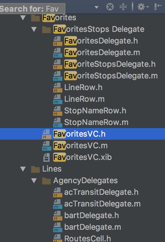 AppCode SearchHighlighting