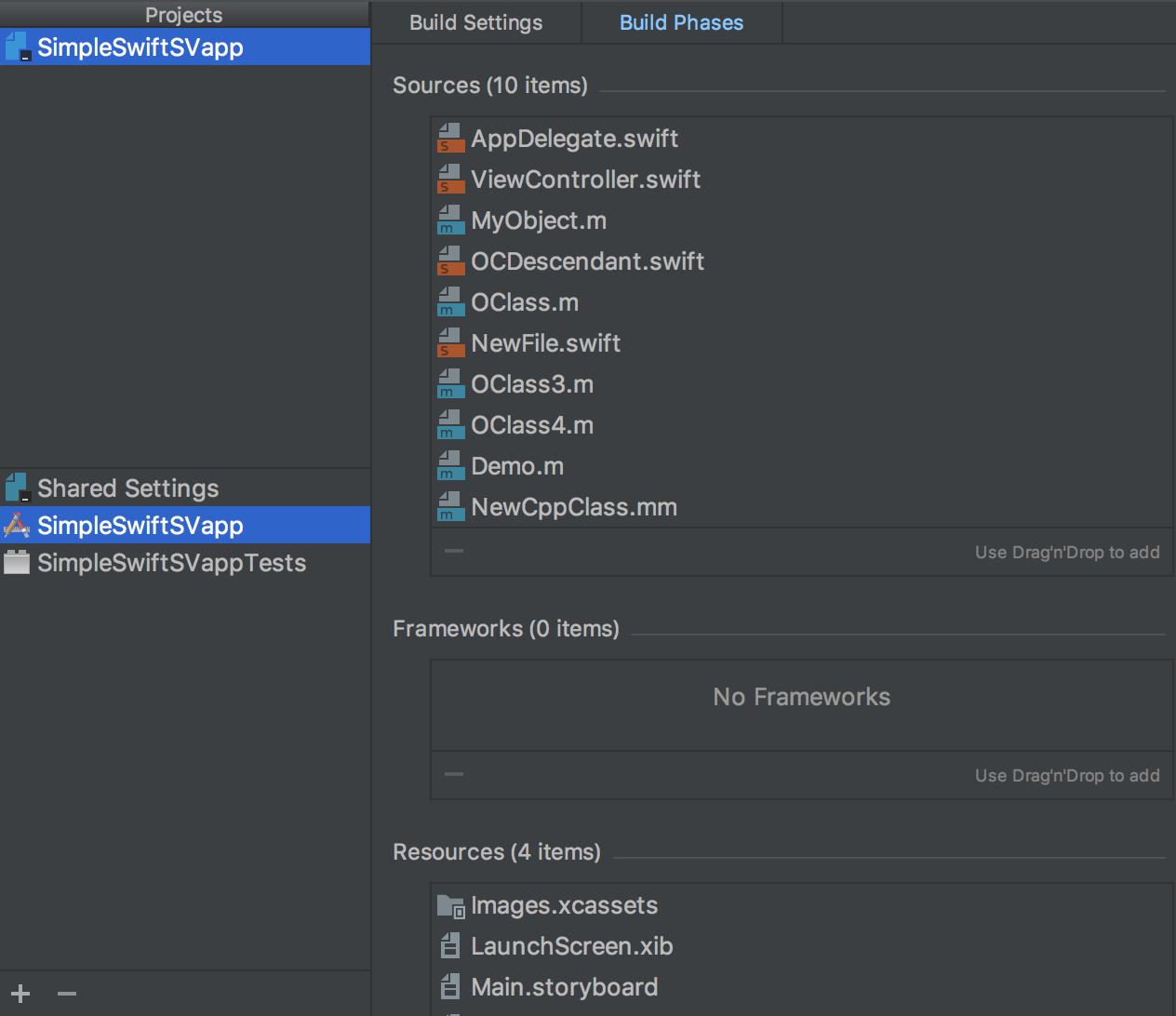 AppCode XcodeCompatibleProjectSettings