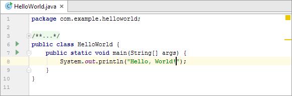 Nice Type Hello, World! HWJ024CodeReady