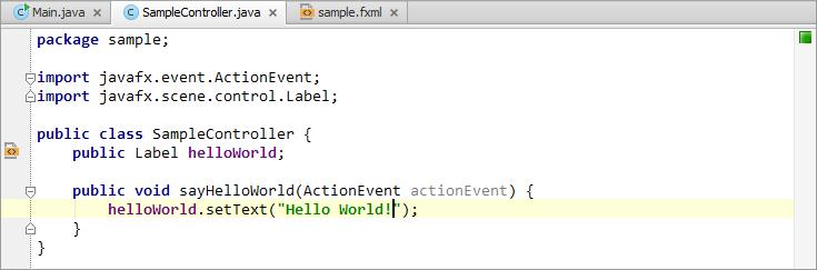 Beautiful HelloWorld\dist Folder. Merveilleux JavaFX10SampleController04