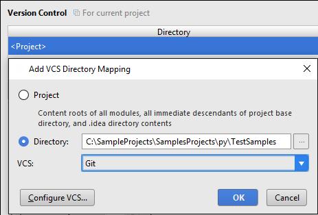 add vcs mapping