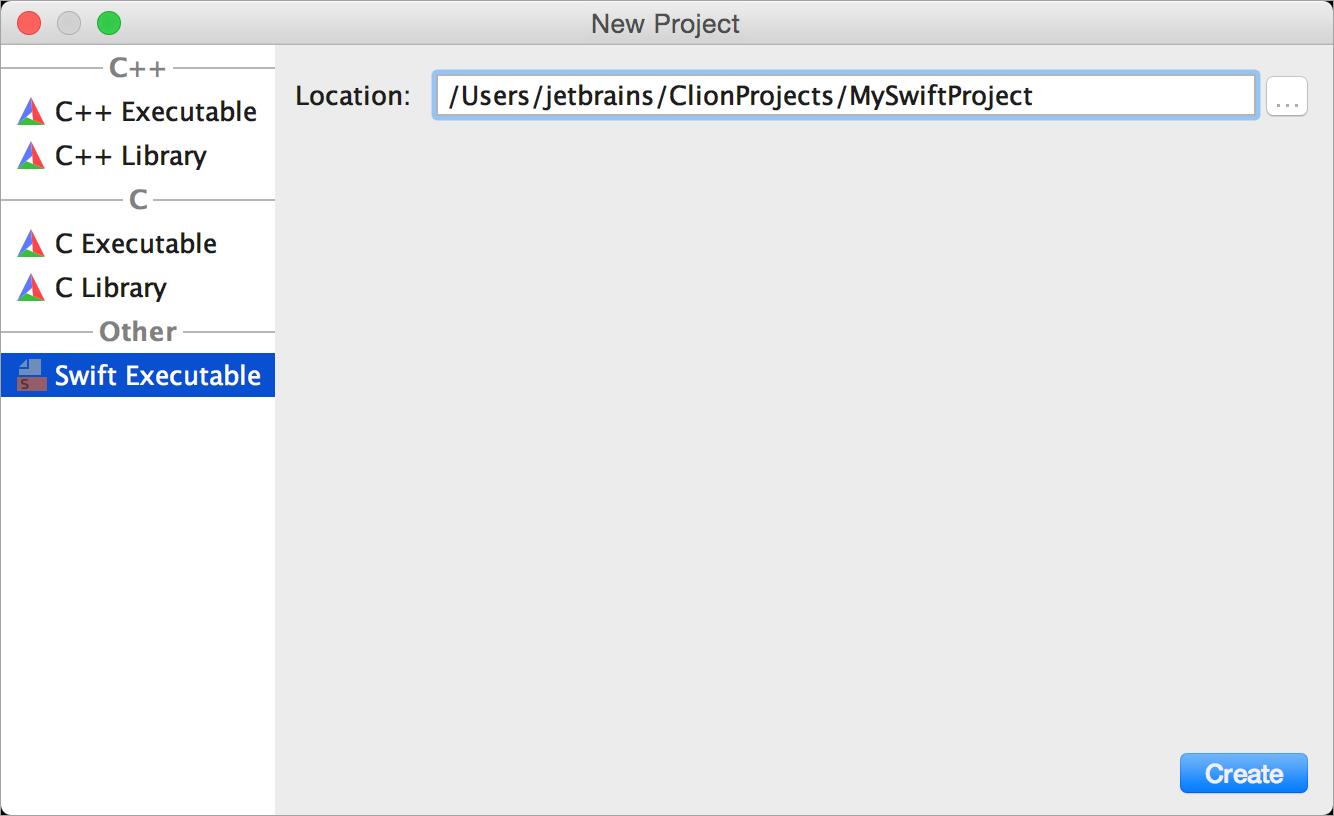 cl NewSwiftProject