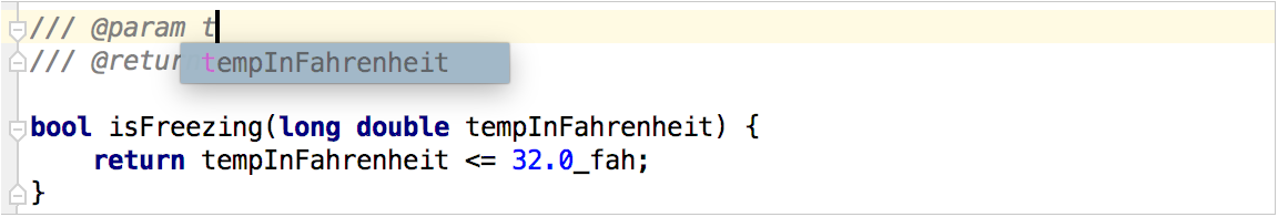 cl dox codecompletion