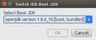 cl switchJDK