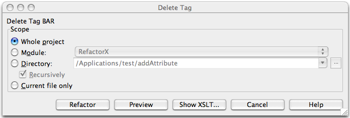 how to delete requested tag