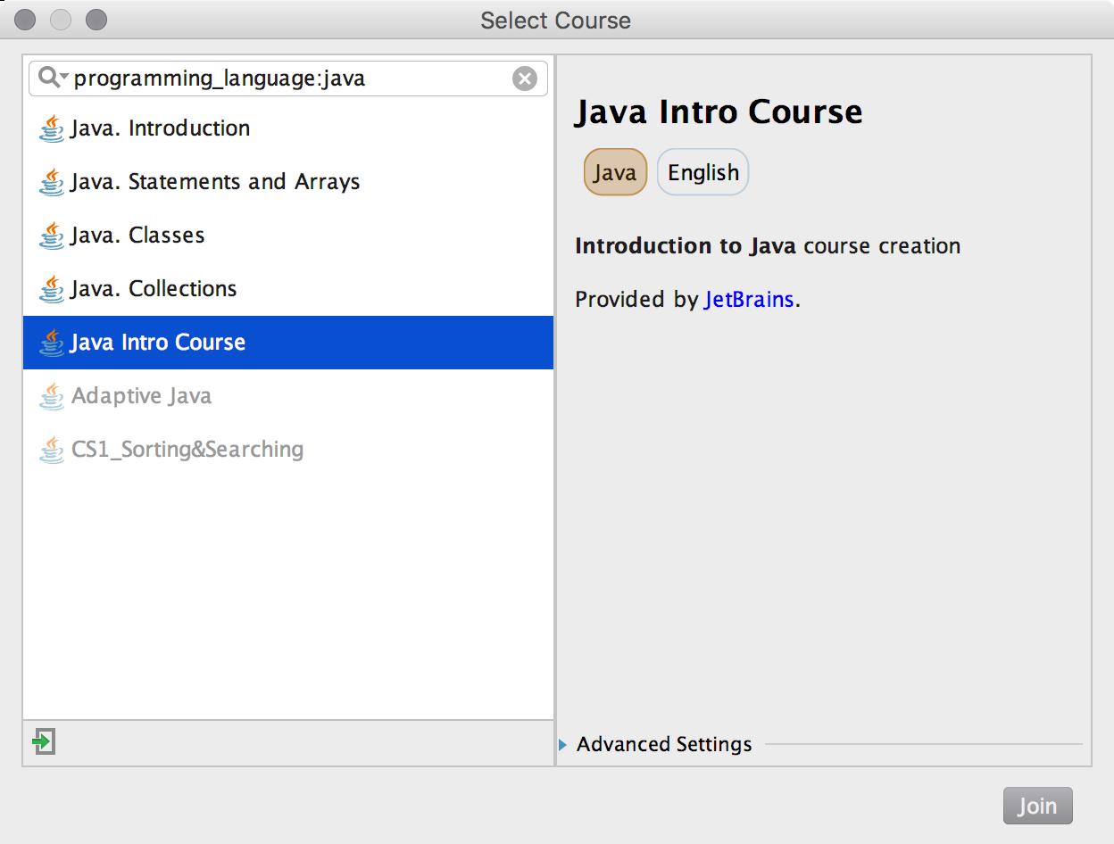 edu course imported java