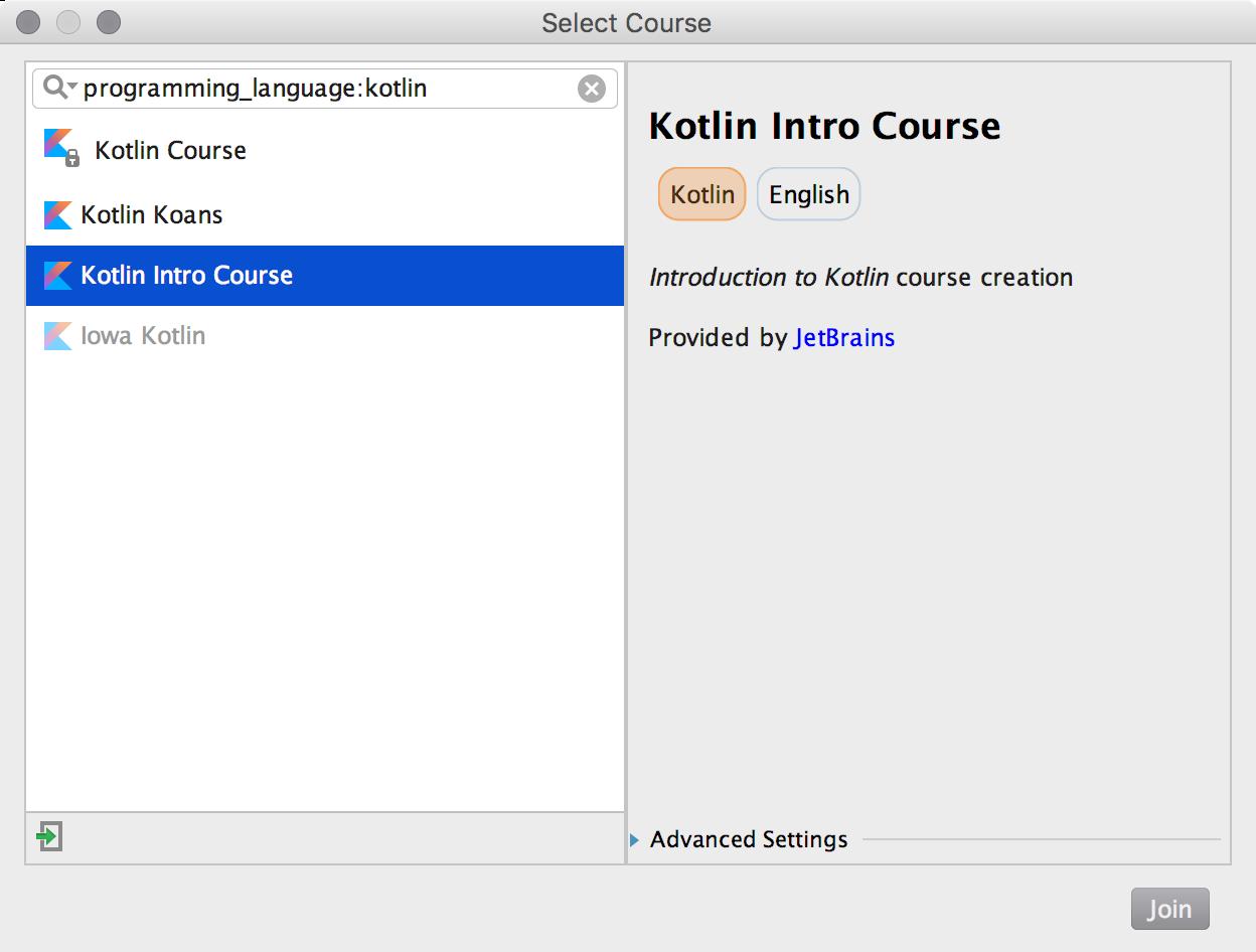 edu course imported kotlin