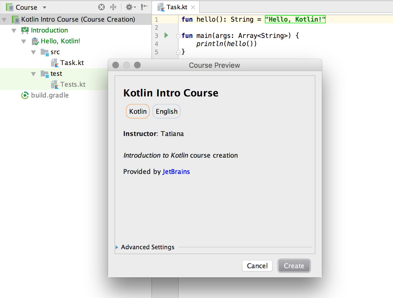 edu course preview kotlin