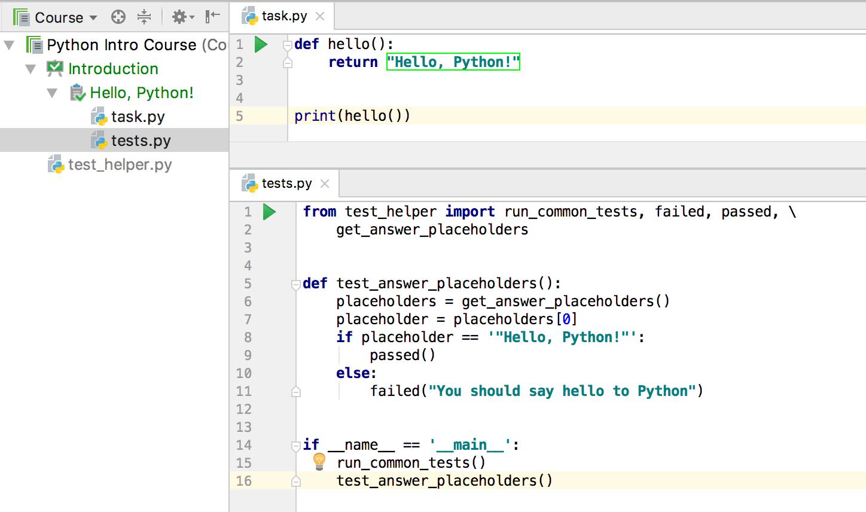 edu task checked python