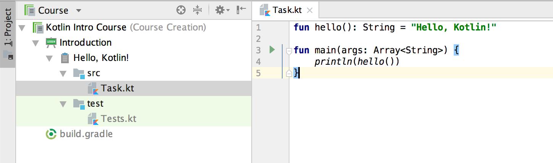 edu task code kotlin