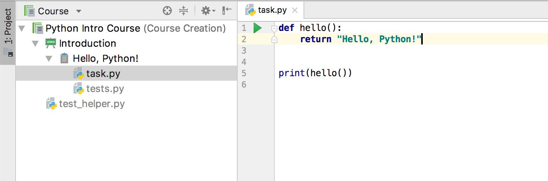 edu task code python