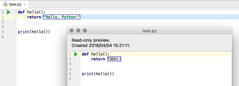 edu task preview python