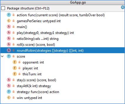 go file structure