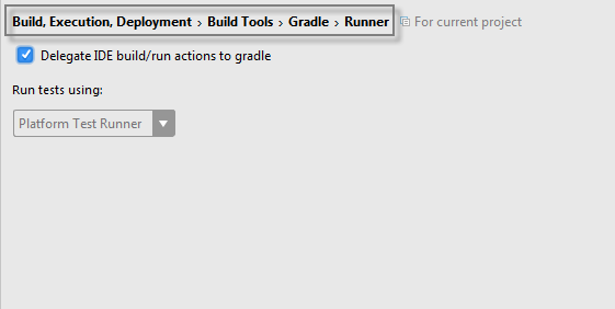 gradle delegate to gradle option
