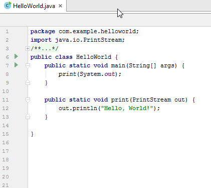 gradle helloworld example