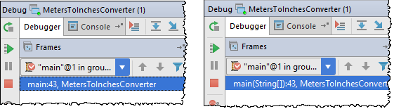 ij method type in debugger
