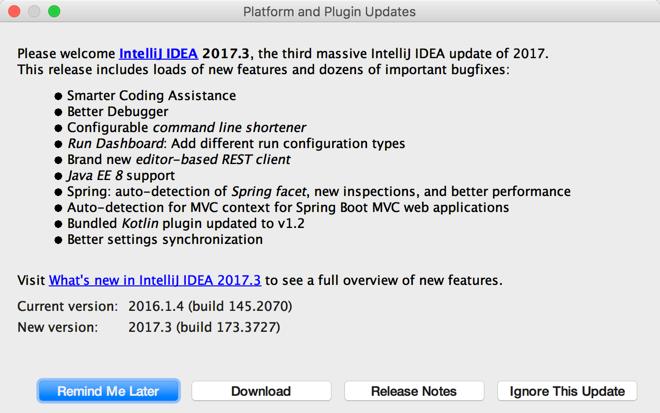 Platform and Plugin Updates