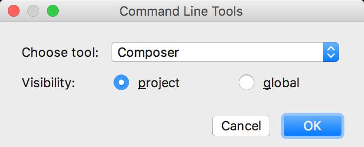ps cli tool composer