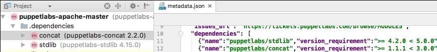 puppet install dependencies1