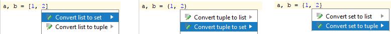 py convert tuple intention