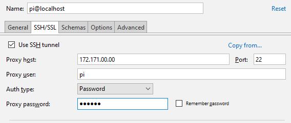 py create postrgesql database ssh tunnel