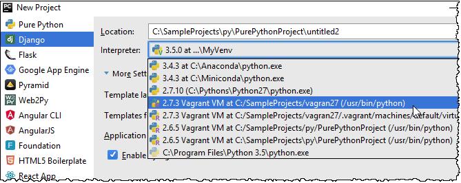 py create project remote