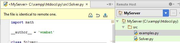 py edit file on remote host 1