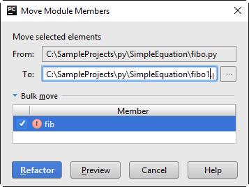 py move module member1