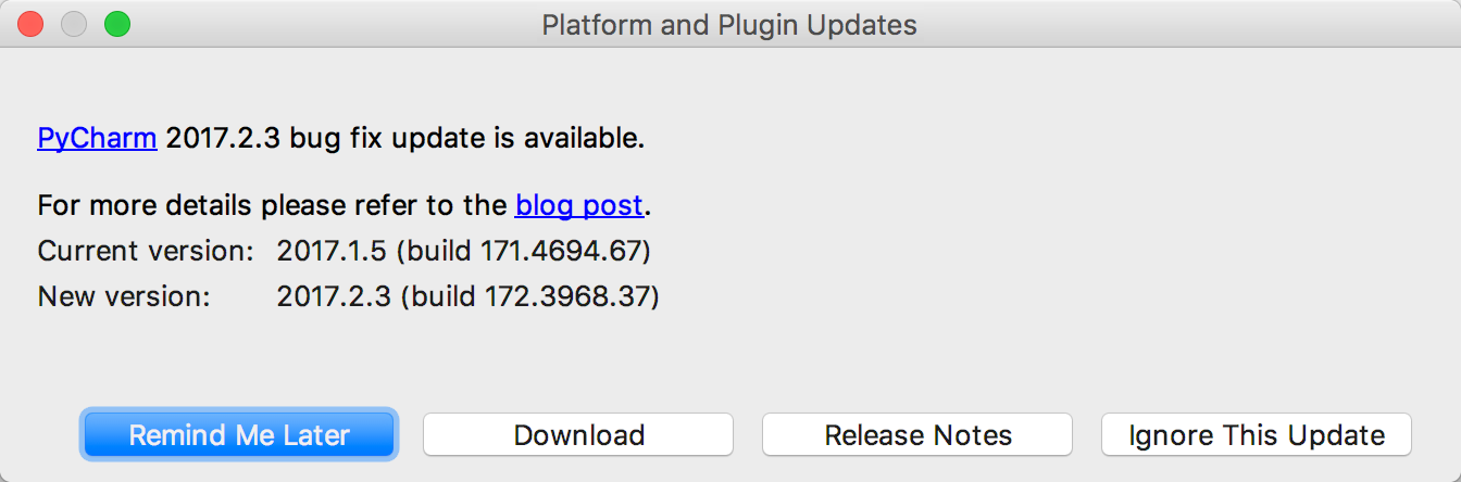 py update download