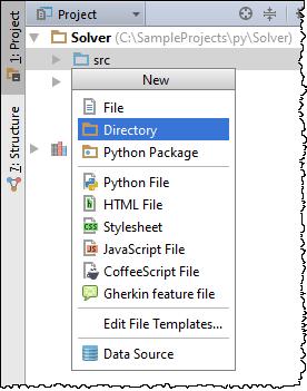python CreateNewDirectories