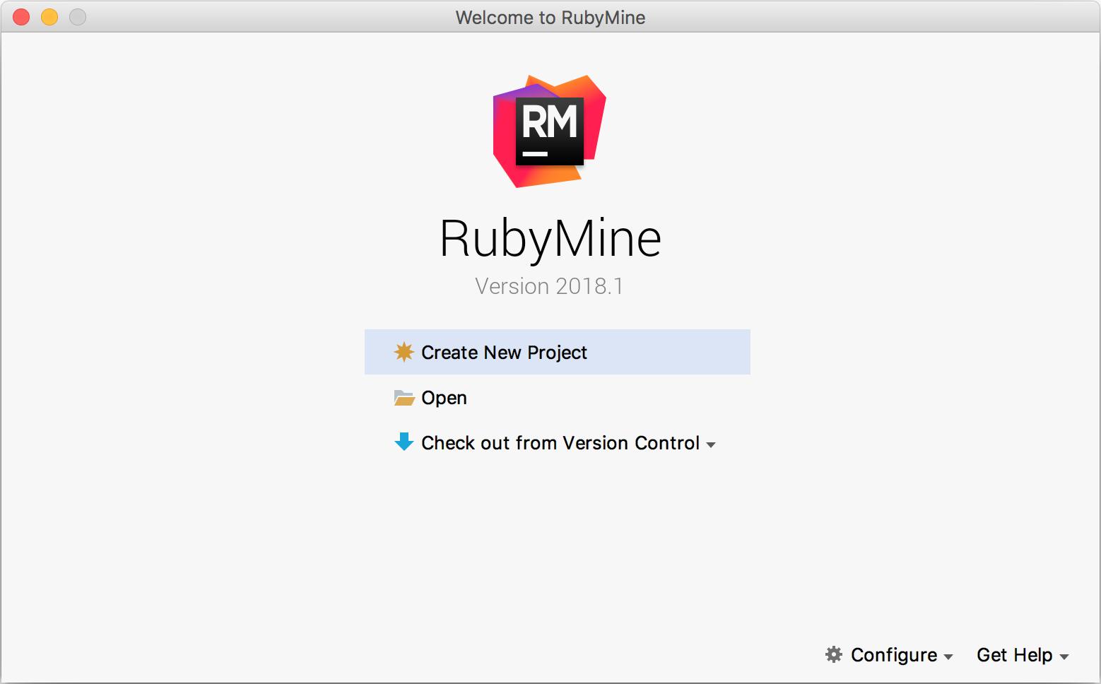 rm installation startproject