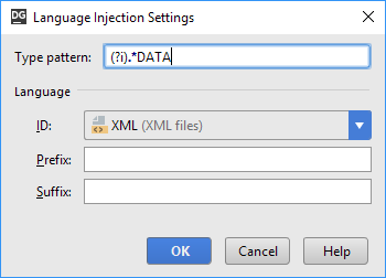 sql injection type pattern