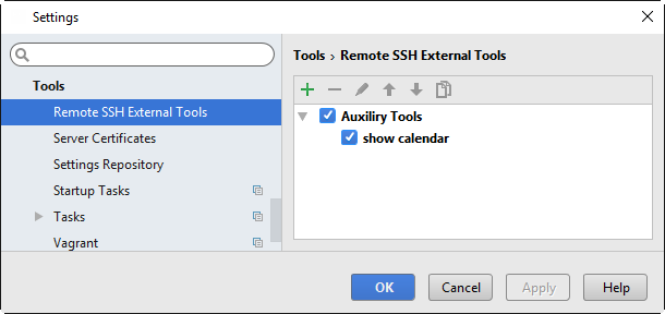 ssh external tools list