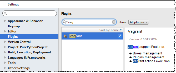 vagrant plugin bundled